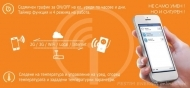 Smart contact WiCo. Management of electrical devices on time and temperature, energy saving